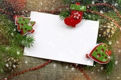 与圣诞节标志的圣诞节背景 图库摄影