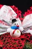 与圣诞节装饰的静物画构成 免版税图库摄影