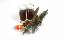 与圣诞节装饰2014年11月14日的圣诞节射击 免版税库存照片