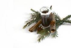 与圣诞节装饰2014年11月14日的圣诞节射击 免版税图库摄影