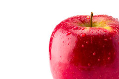 红色苹果计算机 免版税库存图片