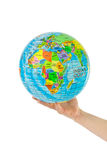 与地球的现有量 库存图片