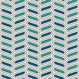 与垂直的辫子装饰品的无缝的样式 八角形物瓦片背景 人字形主题 几何墙纸 库存照片