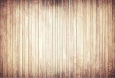 与垂直的板条地板的轻的木纹理 皇族释放例证