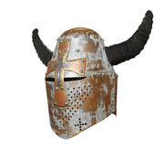 与垫铁的骑士的盔甲 免版税库存图片