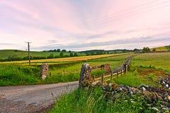与域的苏格兰横向。 免版税库存图片