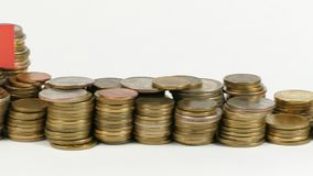 与堆的马耳他旗子金钱硬币 股票录像