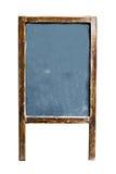 与复制空间的空的菜单黑板文本的 免版税库存照片