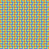 与多彩多姿的发怒线,彩虹颜色的几何无缝的样式把装饰品,棱镜图表纹理编成辫子 装饰brigh 皇族释放例证