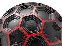 与多被挤压的裁减的球形在不同的层数 向量例证