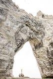 与大厅的石峭壁 免版税库存图片