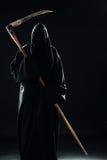 与大镰刀的死亡 免版税库存照片