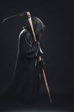 与大镰刀的死亡 免版税图库摄影