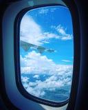 与天空的Windows 免版税库存照片