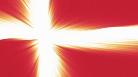 与太阳光线新的质量独特的生气蓬勃的动态行动快乐五颜六色的丹麦沙文主义情绪的无缝的圈冷却 皇族释放例证