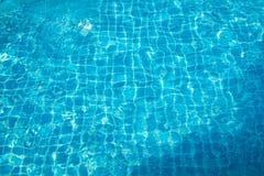 与太阳反射的水 免版税库存图片
