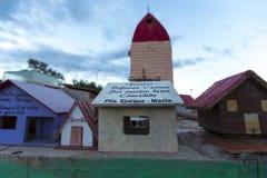 与奉献物的已故的Correa地标 阿根廷 库存照片