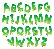 与字母表题材9的图象 库存照片