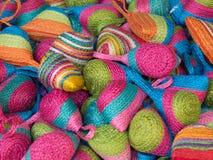 与完整色彩的小袋子 免版税库存图片