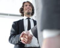与客户的有效的交涉 企业概念照片 免版税库存照片
