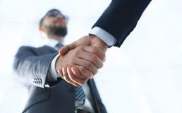 与客户的有效的交涉 企业概念照片 免版税图库摄影