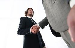与客户的有效的交涉 企业概念照片 库存图片