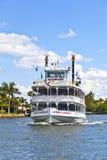 与密林女王/王后河船的巡航 库存照片