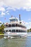与密林女王/王后河船的巡航 免版税库存图片