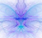与寒冷的白色抽象背景-蓝色,绿松石,紫色- 免版税库存图片