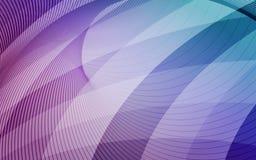 与对角条纹的紫色,蓝色和浅兰的背景 库存照片