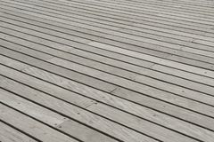 与对角的线的木板条地板 库存照片