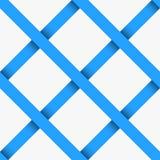 与对角3d条纹的无缝的样式 库存照片