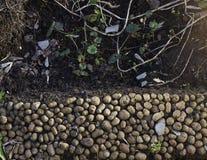 与小卵石的地面 免版税库存图片