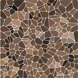 与小卵石的样式 棕色小卵石- Vektorgrafik 抽象传染媒介背景eps 10 皇族释放例证
