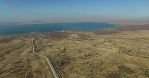 与小山和湖的斯塔夫罗波尔风景 俄国 影视素材