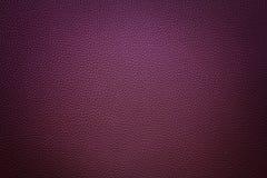 与小插图的紫罗兰色综合性皮革背景 免版税库存图片