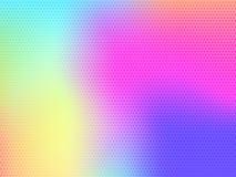 与小点的软的颜色背景 库存例证