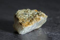 与小石城水晶的石头从奥地利 库存图片