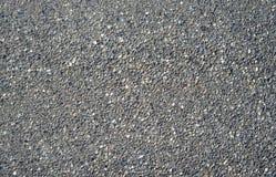 与小石头混合的水泥 库存图片