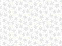 与小ditsy花的白色花卉纹理 库存照片