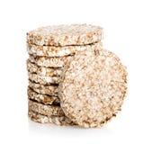与少量卡路里的Galette米节食,低热值面包 库存图片