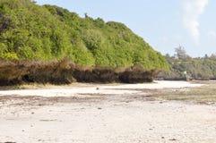 与岩石的小小海湾 库存图片