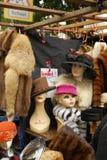 与帽子的时装模特 图库摄影