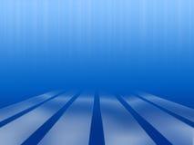 与平台的水下的抽象 免版税库存图片