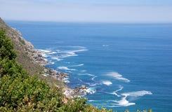 与开普角,南非的海景 免版税库存图片