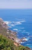 与开普角,南非的海景 库存图片
