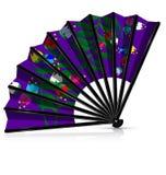 与开花的紫色爱好者 库存照片