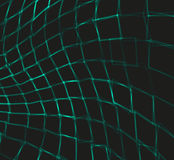 与弯曲的正方形的抽象背景 向量 库存照片