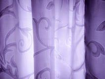 与弯曲的线和紫罗兰色色彩的背景 免版税库存图片