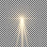 与强光的光 免版税库存图片